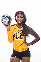 April 24, 2016 - Daytona Beach, FL, U.S: Bethune Cookman Marketing Photo Shoot Athletic Department at Moore Gym in Daytona Beach, Fl.