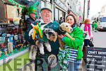 Peter & Jacky Hardy at the St Patrick's Day Parade in Cahersiveen with Lisa & Milly.
