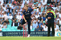 Adam Zampa in bowling action for Essex during Surrey vs Essex Eagles, Vitality Blast T20 Cricket at the Kia Oval on 12th July 2018