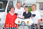 HONDA 50 RUN: Enjoying the Dingle 100 Mile Honda 50 Run organised by the Kerry Stepthru Club in aid of Kerry Life Education on Easter Sunday at the Na Gaei clubhouse, Tralee l-r: Margaret and Thomas Heffernan, Joseph Malone and Liz Heffernan.