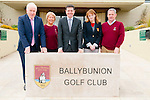 Ministerial Visit: Paschal Donohoe, Minister for Transport, Tourism & Sport , centrevisited Ballybunion Golff Club during his trip to Kerry on Friday last pictured with Minister for the Diaspora Jimmy Deenihan, Rose Molyneaux, Lady captain BGC,  Vari McCreevey, Manager Ballybunion GC & Brendan Lynch, Captain Ballybunion GC