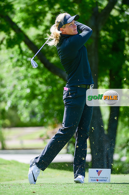 Suzann Pettersen (NOR) watches her tee shot on 13 during round 1 of  the Volunteers of America Texas Shootout Presented by JTBC, at the Las Colinas Country Club in Irving, Texas, USA. 4/27/2017.<br /> Picture: Golffile | Ken Murray<br /> <br /> <br /> All photo usage must carry mandatory copyright credit (&copy; Golffile | Ken Murray)
