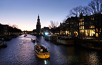 Nederland - Amsterdam- 2019  . De Oudeschans ( Oude Schans ).    Foto Berlinda van Dam / Hollandse Hoogte