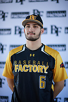Michael Fernandez Jr. (6) of Bellevue High School in Bellevue, Washington during the Baseball Factory All-America Pre-Season Tournament, powered by Under Armour, on January 12, 2018 at Sloan Park Complex in Mesa, Arizona.  (Zachary Lucy/Four Seam Images)
