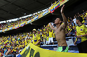 Hinchas de Colombia en partido de eliminatorias para el Mundial de F&uacute;tbol 2018 contra Chile en el Estadio Metropolitano Roberto Melendez de Barranquilla el 10 de noviembre de 2016.<br /> <br /> Foto: Archivolatino<br /> <br /> COPYRIGHT: Archivolatino<br /> Prohibido su uso sin autorizaci&oacute;n.