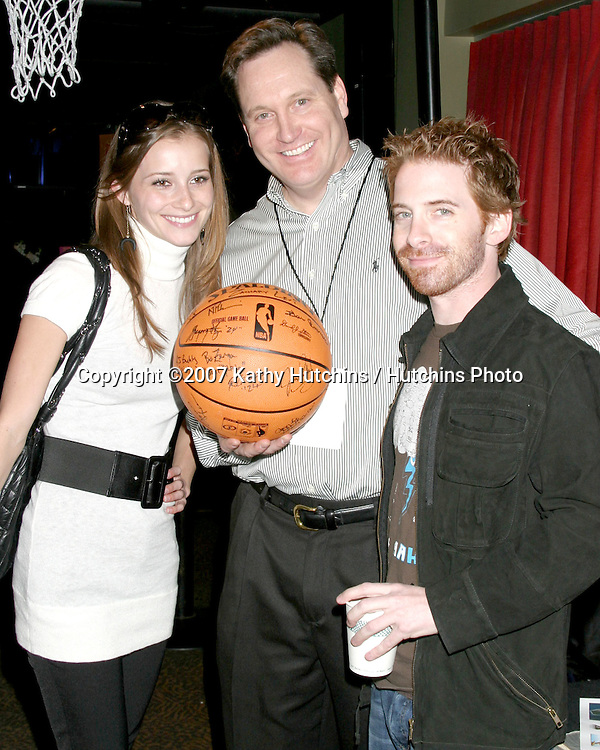 Candace Bailey & Seth Green.GBK Productions Golden Globe Gifting Suite.Friar's Club.Beverly Hills   CA.January 13, 2007.©2007 Kathy Hutchins / Hutchins Photo.