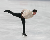 Boston, Massachusetts - April 1, 2016: ISU World Figure Skating Championships Boston 2016 - Men FS, at TD Garden.