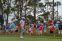 Xander Schauffele (USA) heads down 1 during round 4 of The Players Championship, TPC Sawgrass, at Ponte Vedra, Florida, USA. 5/13/2018.<br /> Picture: Golffile | Ken Murray<br /> <br /> <br /> All photo usage must carry mandatory copyright credit (&copy; Golffile | Ken Murray)
