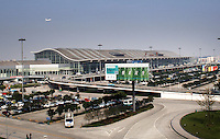 The new Shuangliu Airport in Chengdu, china. It is seated in the central section of Shuanxi Plain and is 16km southwest to the center of ChengduCity..
