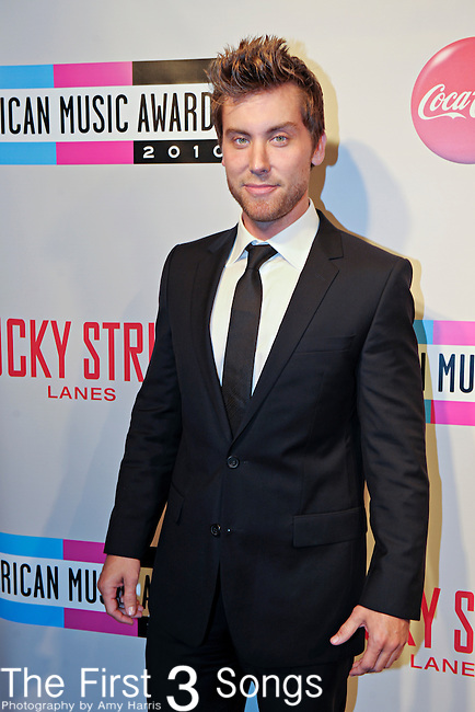 """Lance Bass attends the 2010 """"American Music Awards"""" Pre-Party Charity Bowl Tournament hosted by Dick Clark Productions at Lucky Strike in Los Angeles, California.  Bass bowled on behalf of The Trevor Project."""