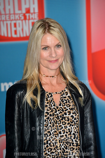 """LOS ANGELES, CA. November 05, 2018: Kate Higgins  at the world premiere of """"Ralph Breaks The Internet"""" at the El Capitan Theatre.<br /> Picture: Paul Smith/Featureflash"""