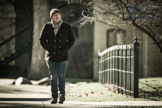 March 3, 2017; Roy Scranton for Notre Dame Magazine (Photo by Matt Cashore/University of Notre Dame)