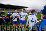 Job well done Paul O'Donoghue and Bryan Sheehan after the Munster Intermediate final in Killarney on Saturday.