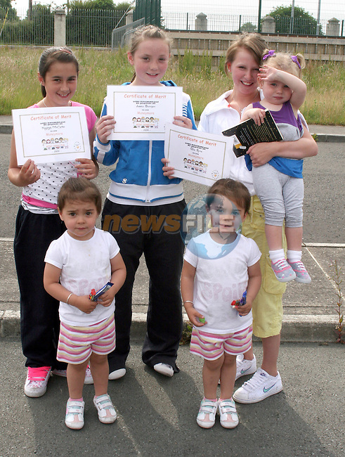 Kaleigh McCarten, Jessica Branigan, Chloe Byrne, Kelsie Kealy and twins Ashleigh and Abi McCarten-Smith at the Moneymore After School Club Awards...Photo NEWSFILE/Jenny Matthews.(Photo credit should read Jenny Matthews/NEWSFILE)....This Picture has been sent you under the condtions enclosed by:.Newsfile Ltd..The Studio,.Millmount Abbey,.Drogheda,.Co Meath..Ireland..Tel: +353(0)41-9871240.Fax: +353(0)41-9871260.GSM: +353(0)86-2500958.email: pictures@newsfile.ie.www.newsfile.ie.FTP: 193.120.102.198.