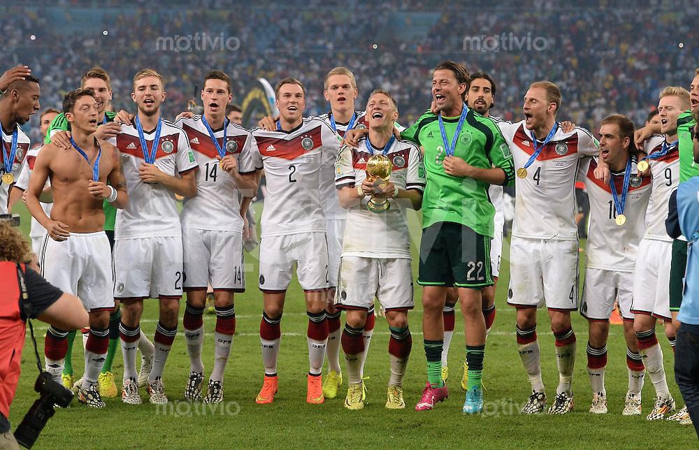 Fussball Wm 2014 Finale Deutschland Argentinien
