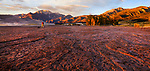 The Great Sand Dunes National Park and Preserve at sunset, Colorado, USA
