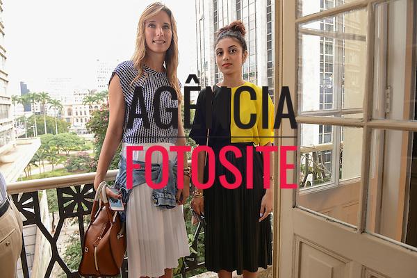 Martina Ergotic e Rupal Patel<br /> <br /> Isabela Capeto<br /> <br /> S&atilde;o Paulo Fashion Week- Ver&atilde;o 2016<br /> Abril/2015<br /> <br /> foto: Gabriel Cappelletti/ Ag&ecirc;ncia Fotosite