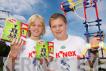 ENGINEERS: Dorian Genster and Tim Dennehy from Fenit National School who represented Kerry at the National K-Nex Finals in Dublin at the weekend..