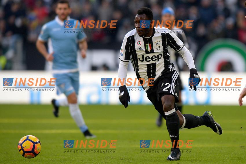 Kwadwo Asamoah Juventus <br /> Torino 22-01-2017 Juventus Stadium Calcio Campionato Italiano Serie A 2016/2017 <br /> Juventus - Lazio <br /> Foto Filippo Alfero Insidefoto