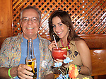 Guy and Daughter, Angele, enjoying happy hour in Mexico!