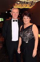Kerry GAA PRO John O'Leary and Rosaria O'Leary at the Bord Gais Energy Munster GAA Awards in The Malton Hotel, Killarney at the weekend.<br /> Picture by Don MacMonagle<br /> PR photo from Munster Council<br /> Further info: ed Donnelly e;pro.munster@gaa.ie FOR PJ GIBBONS COLUMN