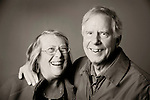 Portrait. Roger and Nancy Shipley- husband and wife,retired.