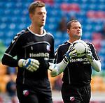Nederland, Amsterdam, 7 oktober  2012.Seizoen 2012-2013.Eredivisie.Ajax-FC Utrecht.Jeroen Verhoeven keeper van FC Utrecht