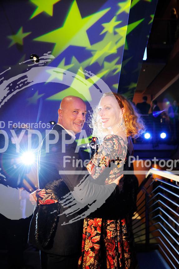 Christian Berkel und Andrea Sawatzki bei der Eröffnungsfeier der Berlinale 2015 / 65. Internationale Filmfestspiele Berlin, 05.02.2015