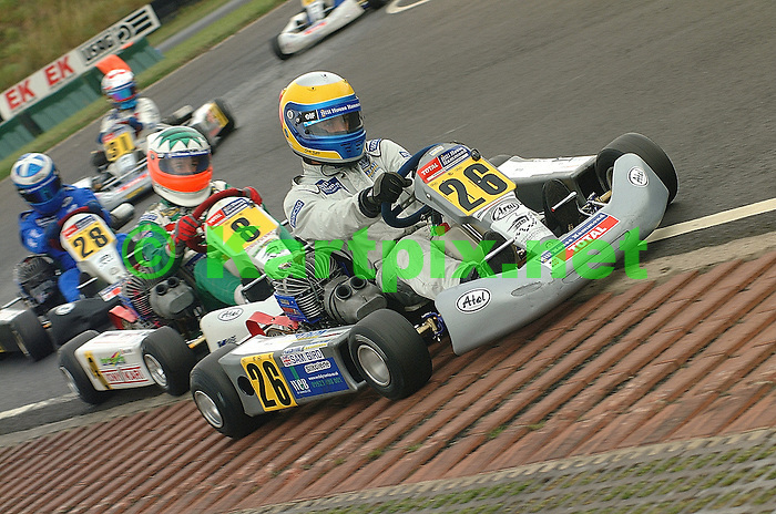 MSA, JICA, PFI, Sam Bird, Karting.