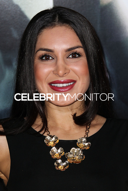 """WESTWOOD, CA, USA - FEBRUARY 24: Saye Yabandeh at the World Premiere Of Universal Pictures And Studiocanal's """"Non-Stop"""" held at Regency Village Theatre on February 24, 2014 in Westwood, Los Angeles, California, United States. (Photo by Xavier Collin/Celebrity Monitor)"""