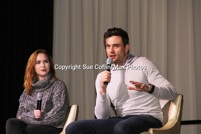The Young and The Restless actors Camryn Grimes, Daniel Goddard came together on February 16, 2019 for a fan q & a, meet and great with autographs and photo taking hosted by Soap Opera Festival's Joyce Becker at the Hollywood Casino in Columbus, Ohio. (Photos by Sue Coflin/Max Photos)