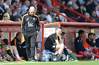 Cambridge United Manager Joe Dunne during Stevenage vs Cambridge United, Sky Bet EFL League 2 Football at the Lamex Stadium on 14th April 2018
