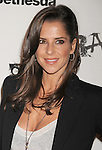 LOS ANGELES, CA - SEPTEMBER 30: Kelly Monaco arrives at the Official Launch Party For RAGE Hosted By Charlize Theron at Chinatown's Historical Central Plaza on September 30, 2011 in Los Angeles, California.