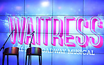 Stage and set for the Jason Mraz joins the cast of  'Waitress' Press Event on October 30, 2017 at You Tube Space in New York City.