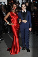www.acepixs.com<br /> February 8, 2017  New York City<br /> <br /> Iman and Zac Posen attending the amfAR New York Gala 2017 at Cipriani Wall Street on February 8, 2017 in New York City.<br /> <br /> Credit: Kristin Callahan/ACE Pictures<br /> <br /> Tel: 646 769 0430<br /> Email: info@acepixs.com