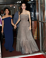 www.acepixs.com<br /> <br /> September 14 2017, New York City<br /> <br /> Co-writer and author Loung Ung and director Angelina Jolie arriving at a screening of 'First They Killed My Father' at the DGA theatre on September 14, 2017 in New York City.<br /> <br /> By Line: Nancy Rivera/ACE Pictures<br /> <br /> <br /> ACE Pictures Inc<br /> Tel: 6467670430<br /> Email: info@acepixs.com<br /> www.acepixs.com