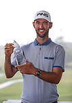 Pieter Zwart, winner of the Autex Muriwai Open, Muriwai Golf Club, Auckland, Sunday 1 May 2016. Photo: Simon Watts/www.bwmedia.co.nz