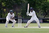 N Dawlatzai of Brondesbury during Finchley CC vs Brondesbury CC (batting), ECB National Club Championship Cricket at Arden Field on 12th May 2019