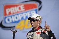 Winner Greg Biffle (#16) in Victory Lane.