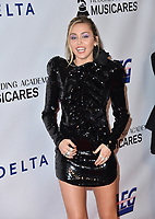 LOS ANGELES, CA. February 08, 2019: Miley Cyrus at the 2019 MusiCares Person of the Year Gala honoring Dolly Parton at the Los Angeles Convention Centre.<br /> Picture: Paul Smith/Featureflash