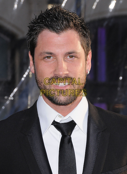 """MAKSIM CHMERKOVSKIY.at The Warner Bros. Pictures L.A. Premiere of """"Clash of The Titans"""" held at The Grauman's Chinese Theatre in Hollywood, California, USA,.March 31st 2010                                                                    .arrivals portrait headshot black smiling beard facial hair  tie white shirt.CAP/RKE/DVS.©DVS/RockinExposures/Capital Pictures"""