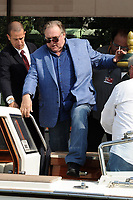 French actor Gerard Depardieu arrives at the 74th Venice Film Festival on September 6, 2017 in Venice, Italy.<br /> UPDATE IMAGES PRESS/Marilla Sicilia<br /> <br /> *** ONLY FRANCE AND GERMANY SALES ***