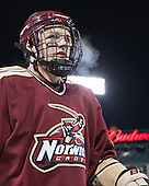 Nevin Lawler (Norwich - 17) - The Norwich University Cadets defeated the Babson College Beavers 1-0 on Thursday, January 9, 2014, at Fenway Park in Boston, Massachusetts.