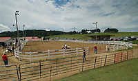 The horse ring at the Knox County Fair in Mt. Vernon, Ohio.<br />