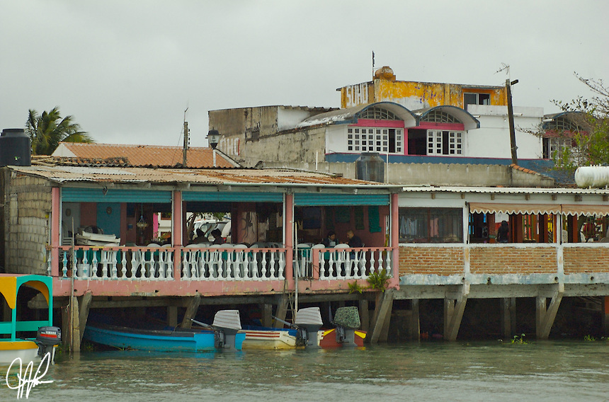 "Tlacotalpan, Veracruz located near coastal region of Gulf coast.  The municipal seat, town of Tlacotalpan name is Nahuati meaning, ""Place between the rivers,"" because it was founded as a river port on the banks of the Papaloapan in the mid-16th century."