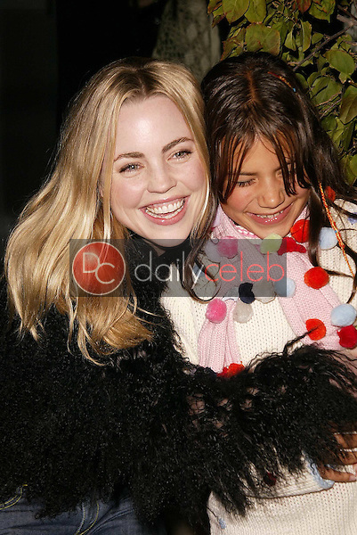 Melissa George and step daughter Martina