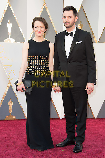 Oscar&reg;-nominee, Matt Charman, arrives with guest at The 88th Oscars&reg; at the Dolby&reg; Theatre in Hollywood, CA on Sunday, February 28, 2016.<br /> *Editorial Use Only*<br /> CAP/PLF<br /> Supplied by Capital Pictures