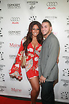 Jerseylicious' Tracy DiMarco  and Corey attend New Premium Lounge Signed by INDASHIO Men's Collection Fashion Show at AUDI FORUM, NY  9/13/11