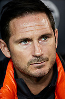 27th November 2019; Mestalla, Valencia, Spain; UEFA Champions League Footballl,Valencia versus Chelsea; Chelsea Manager Frank Lampard looks on prior to the game - Editorial Use