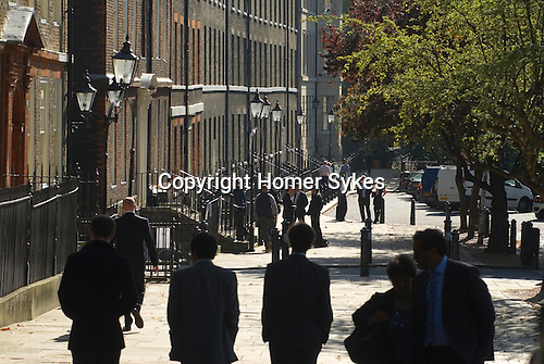 Kings Bench Walk Inner Temple. Inns of Court. Solicitors Chambers buildings. London UK